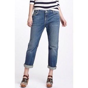 Anthropologie Holding Horses Cropped Jeans Size 27